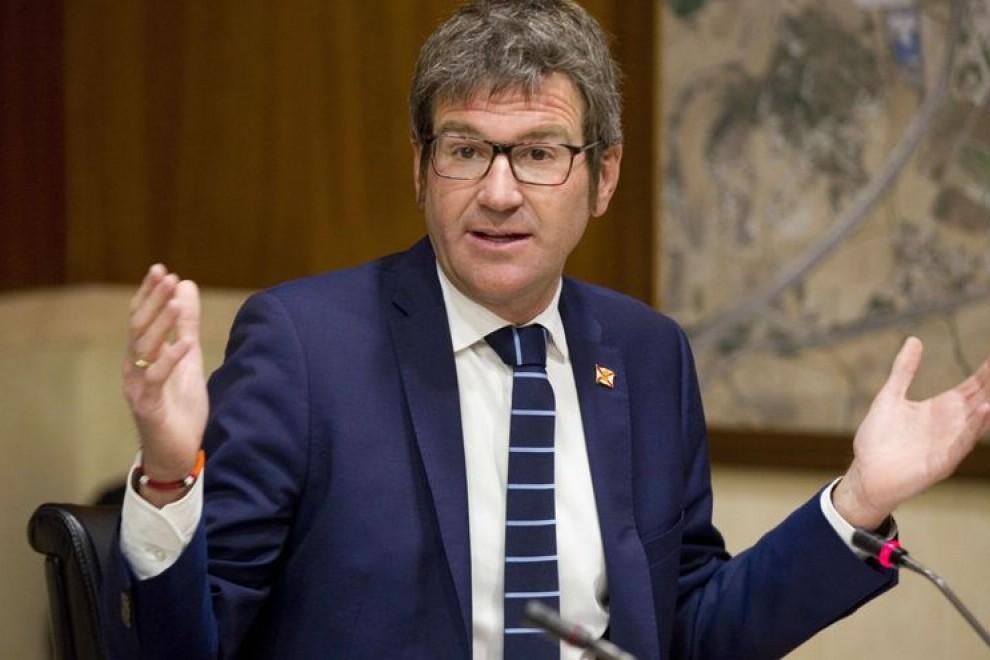 El alcalde de Vitoria, Gorka Urtaran. EFE/ David Aguilar/Archivo