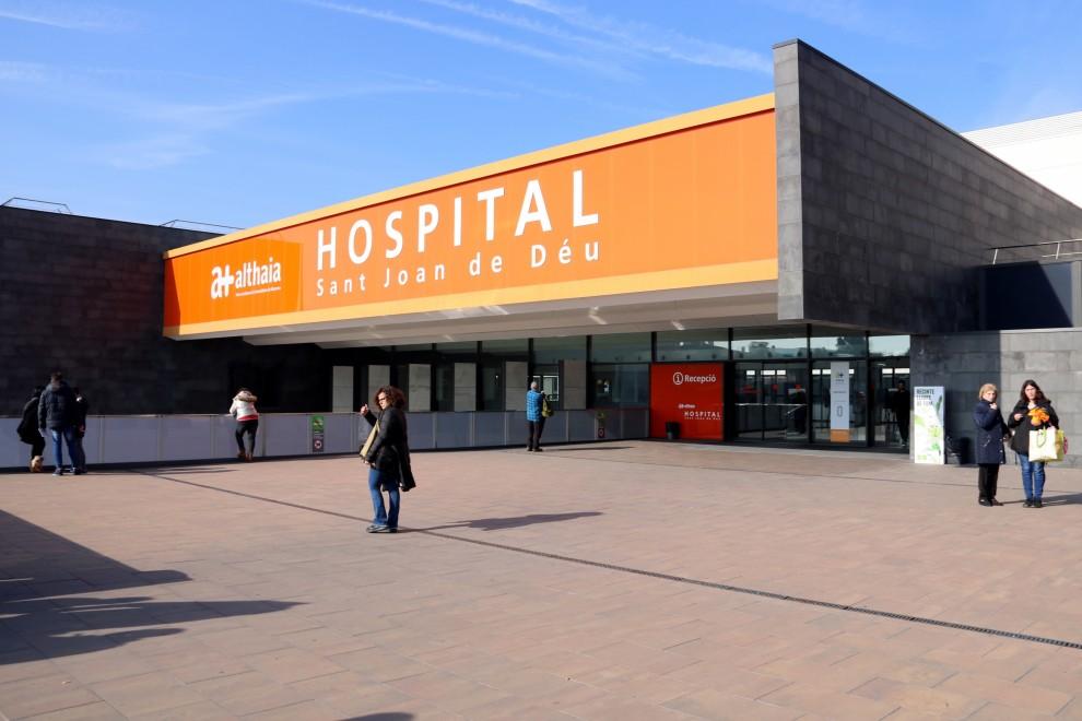 Hospital San Juan de Dios de Manresa. ACN / Estefanía Escolà