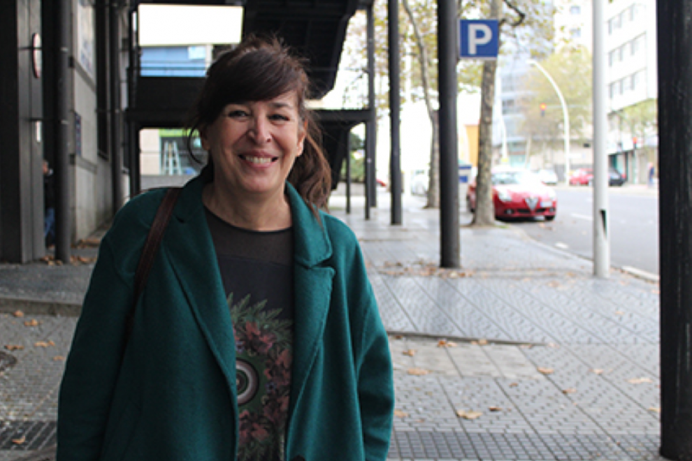 Rebeca Quintáns. Foto: Juan Torvo.