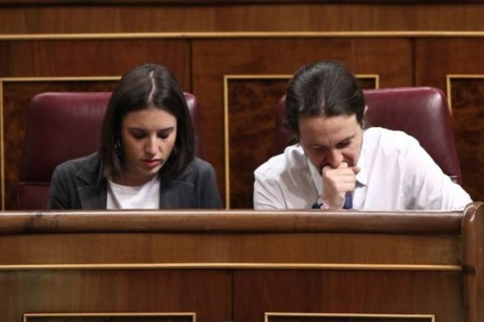 Pablo Iglesias e Irene Montero llevan meses sufriendo episodios de acoso en su propia vivienda. / Europa Press