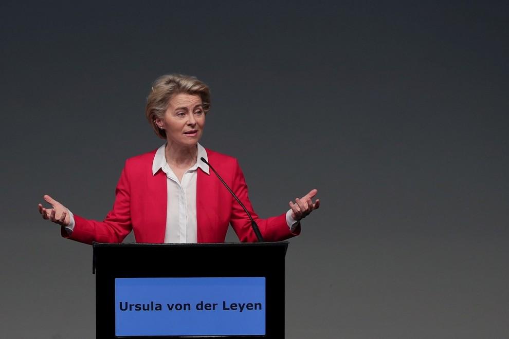 La presidenta de la Comisión Europea, Ursula Von Der Leyen. - EFE