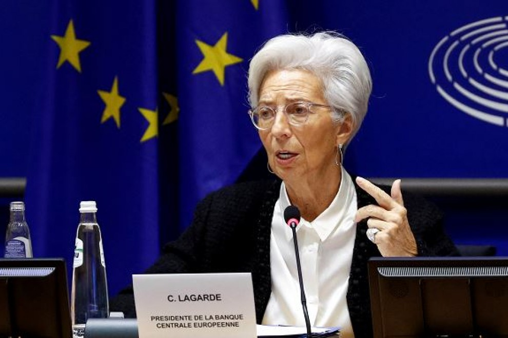 La presidenta del Banco Central Europeo (BCE), Christine Lagarde. / Reuters