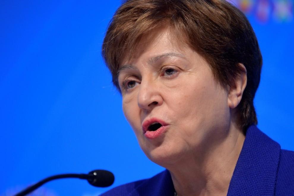 La directora gerente del Fondo Monetario Internacional (FMI), Kristalina Georgieva. REUTERS / Mike Theiler / Archivo