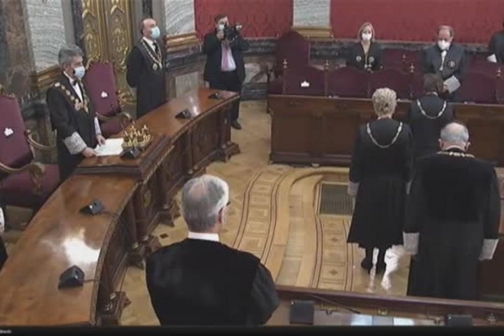 Luisa Segoviano toma posesión como presidenta de la sala tercera del Supremo