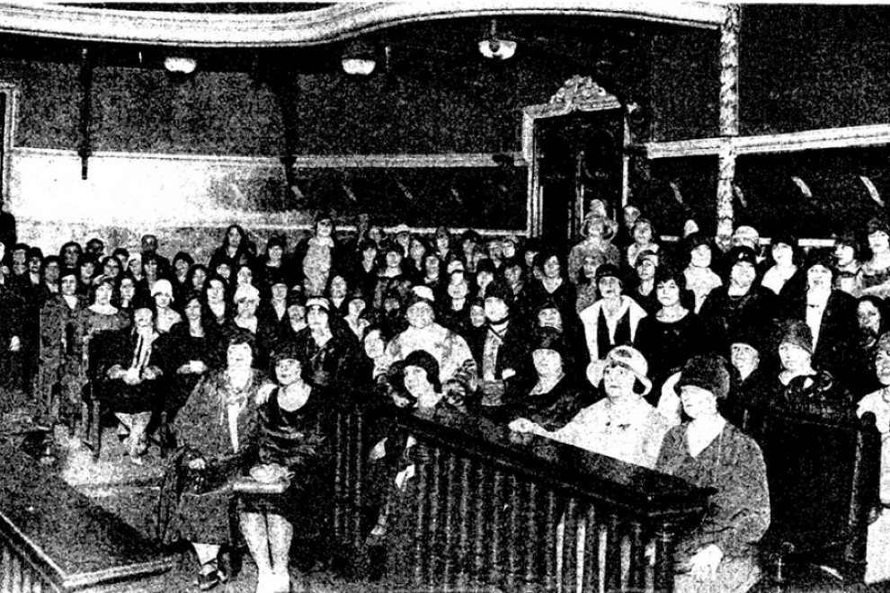I Congreso Nacional de Matronas en mayo de 1929.