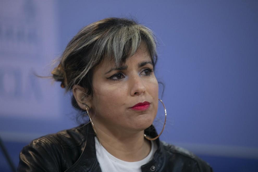 Teresa Rodríguez, diputada en el Parlamento de Andalucía.