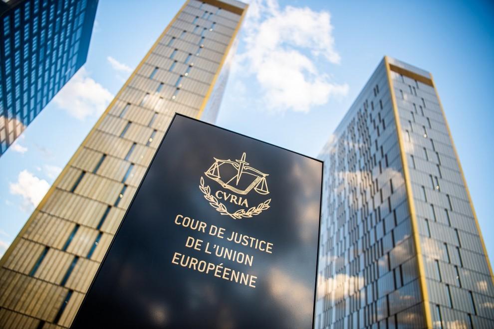 Edificio del Tribunal de Justicia de la UE, en Luxemburgo. E.P./DPA/Arne Immanuel Bänsch