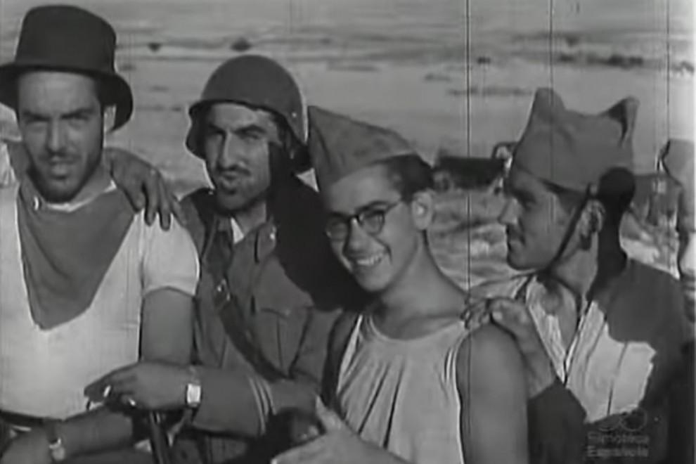 Integrantes de la FAI en Aragón, en 1936. - SUEP / Ministerio de Cultura y Deporte