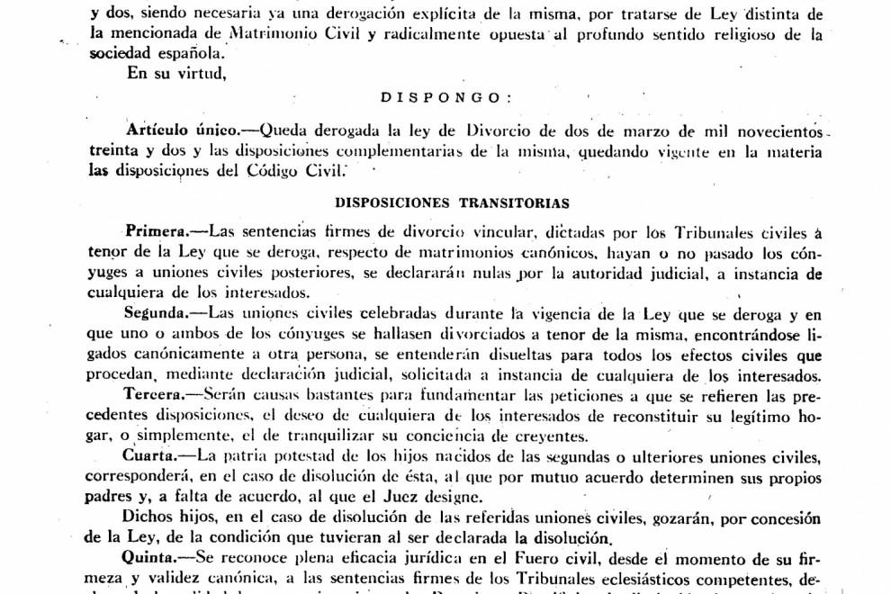 ley franquista