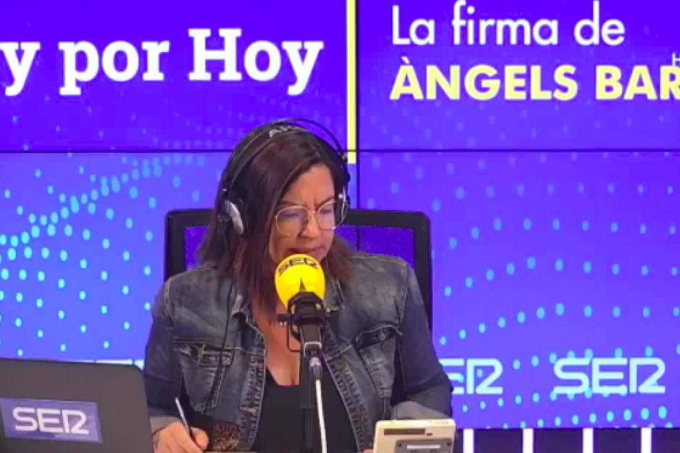 Pantalla del programa Hoy por Hoy de la Cadena SER.