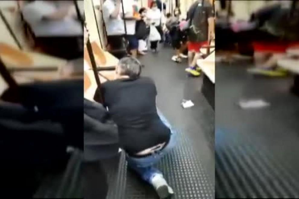 Pierde la visión de un ojo el sanitario agredido en el metro al pedir a una persona ponerse la mascarilla