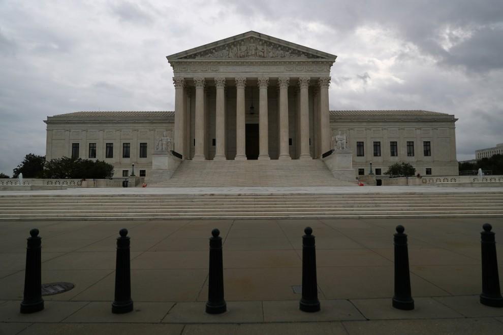 Vista del edificio del Tribunal Supremo de EEUU, en Washington. REUTERS/Tom Brenner