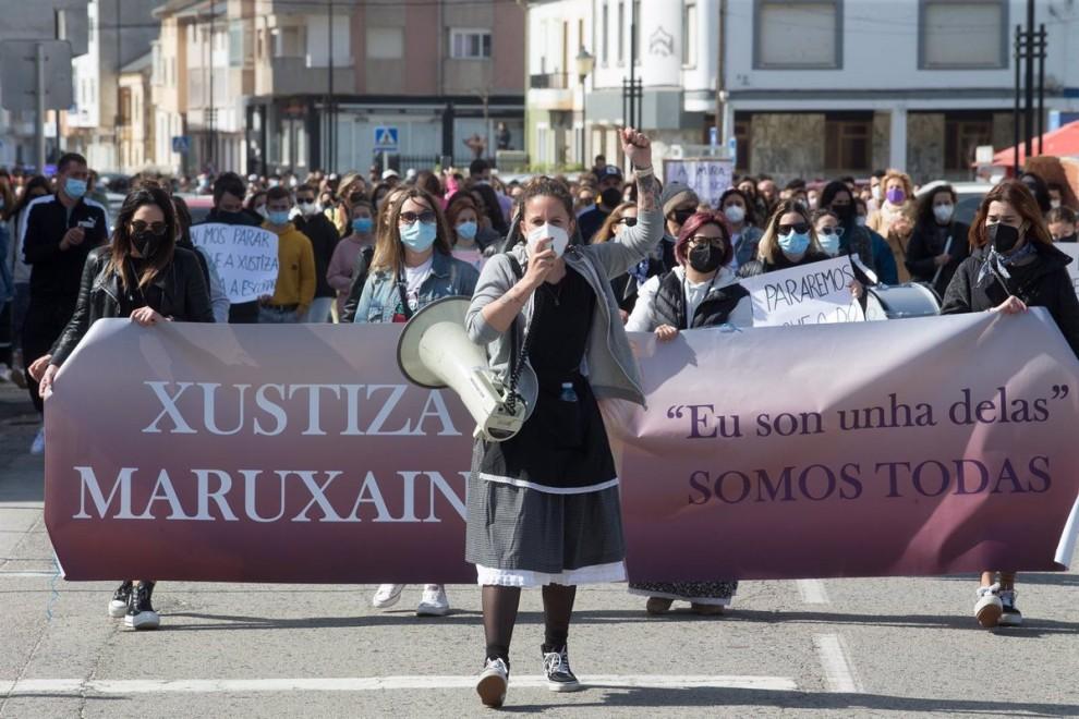 Protesta mujeres Lugo