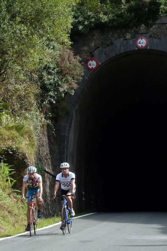 El túnel de Aritxulegi. ANDER IZAGIRRE
