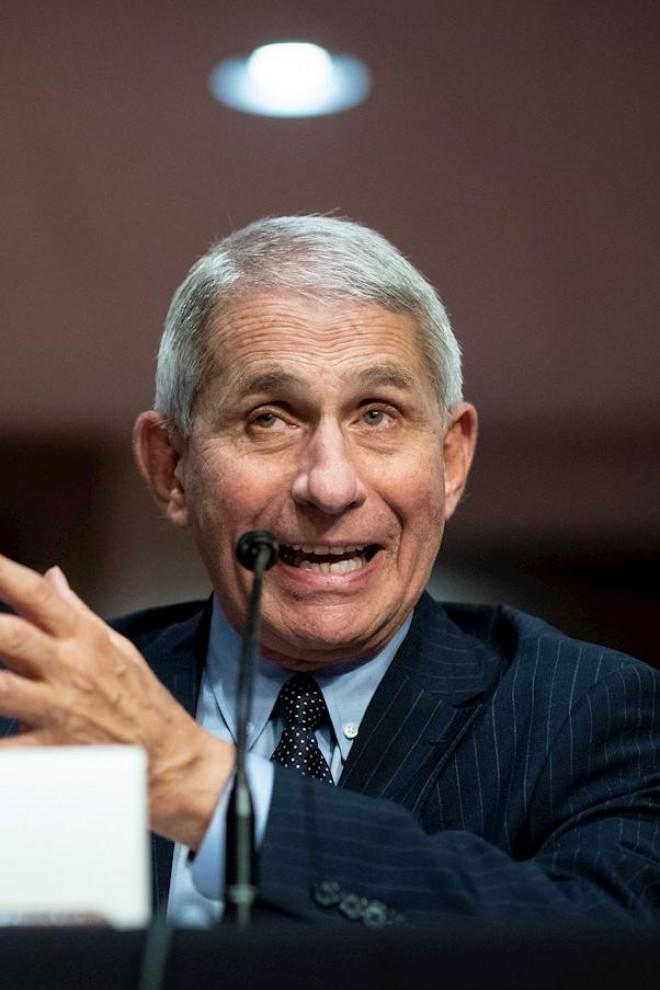 El epidemiólogo jefe de la Casa Blanca, Anthony Fauci. EFE/Al Drago