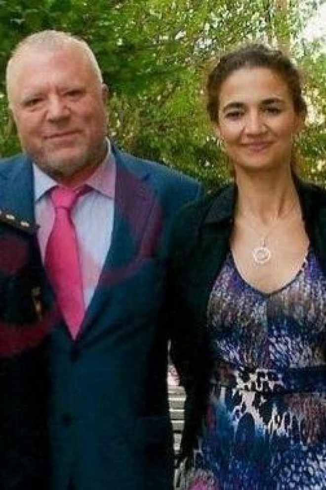 El comisarios Salamanca y Villarejo, con sus respectivas esposas, cuando el ministro Fernández Díaz les impuso la medalla roja, en 2012.