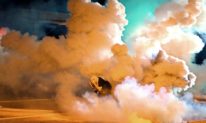 El St. Louis Post-Dispatch ha recibido el premio Pulitzer de fotografía por la cobertura de las protestas de Ferguson./ REUTERS/David Carson/St. Louis Post-Dispatch/Handout