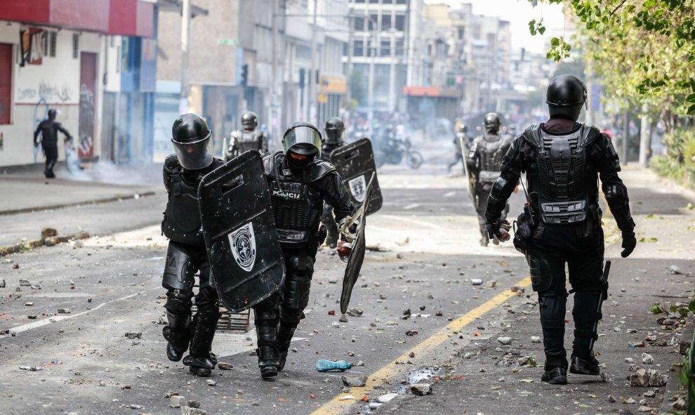 Los agentes vigilan las calles de Quito. / Europa Press -  Juan Diego Montenegro