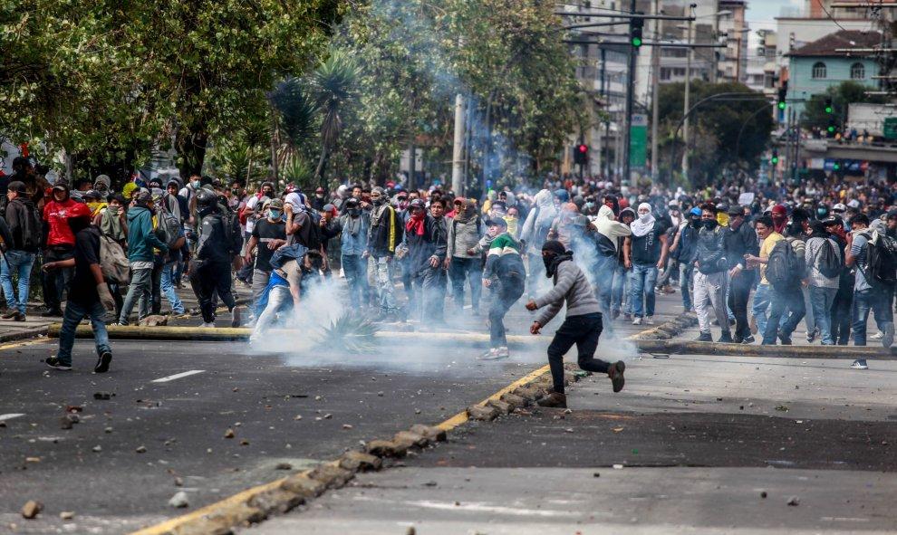 Manifestantes en Quito. / Europa Press -  Juan Diego Montenegro