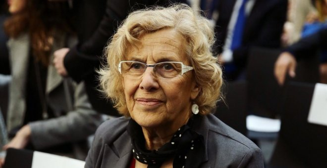 Manuela Carmena JOSEFINA BLANCO/EUROPA PRESS