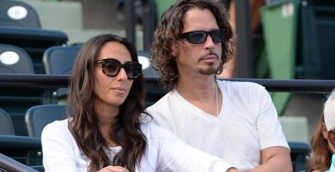 Chris Cornell y su esposa. EUROPA PRESS