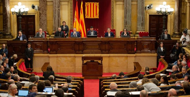 Imagen del Parlament de Catalunya. / EUROPA PRESS - DAVID ZORRAKINO