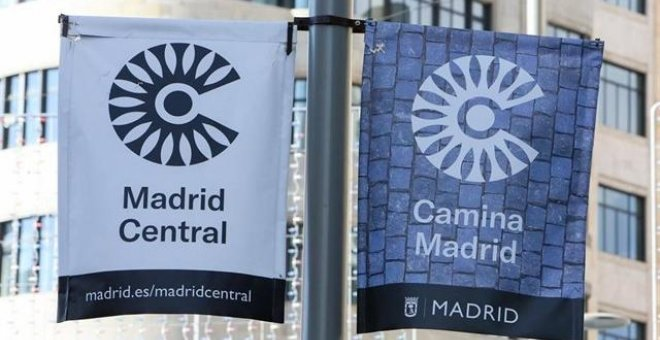 Madrid Central. Europa Press