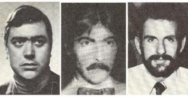 Luis Montero, Luis Cobo y Juan Mañas.