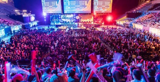 All Star del League of Legends en el Palau Sant Jordi celebrada el mes de diciembre de 2016. RIOT GAMES