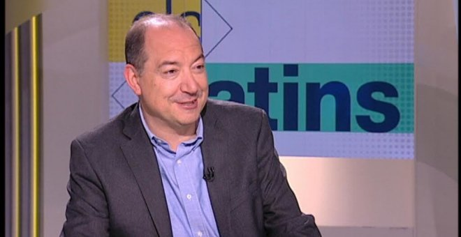 El nou director de TV3, Vicent Sanchis.