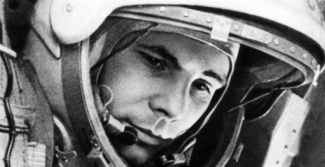 El astronauta Yuri Gagarin /Archives of Rocket and Space Corporation Energia