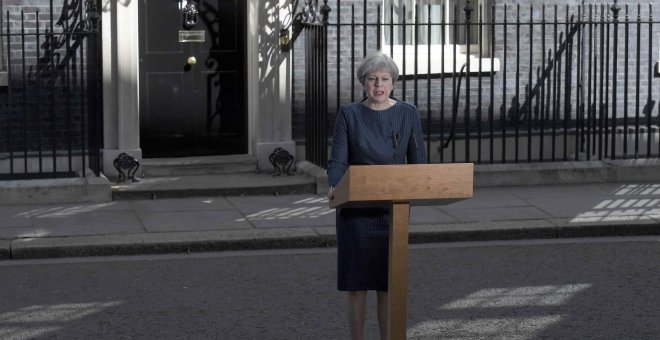 Theresa May anuncia elecciones anticipadas para el 8 de junio en Reino Unido / REUTERS