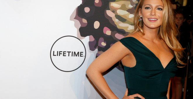 La actriz Blake Lively en al acto de Variety 'Power of Women luncheon in New York'. REUTERS/Brendan McDermid