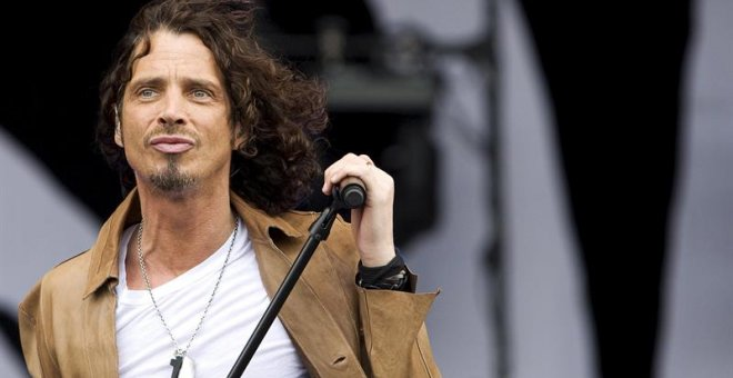 Chris Cornell, durante un concierto en Holanda en 2009. EFE/Valerie Kuypers