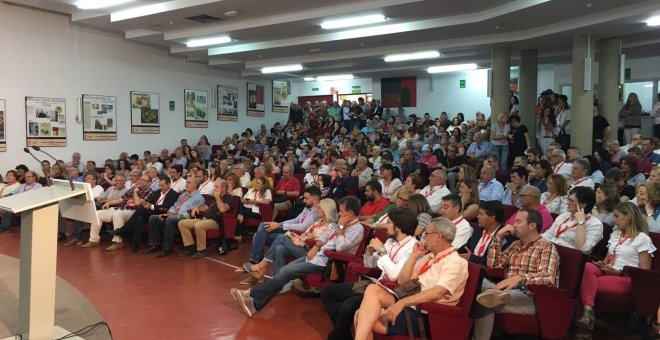 Congreso Federal del PSOE en Valencia.Europa Press/PSPV