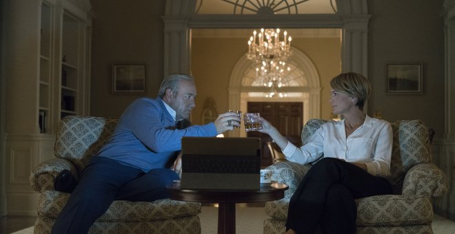 Escena de House of Cards