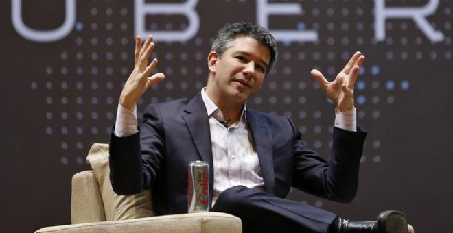 Travis Kalanick, director general de UBER. / DANISH SIDDIQUI (REUTERS)