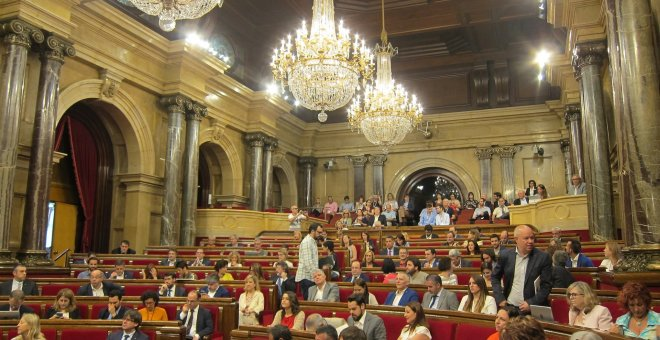 Pleno del Parlament  EUROPA PRESS