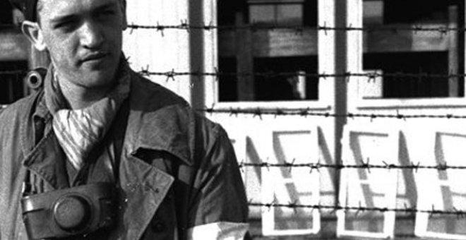 Retratro de Francesc Boix en el campo de Mauthausen