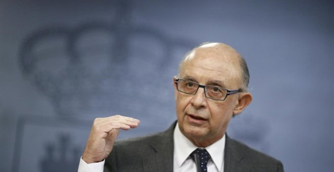 El ministro de Hacienda, Cristobal Montoro /EUROPA PRESS