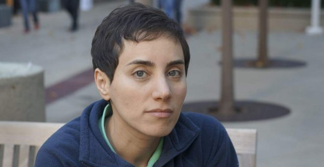 Maryam Mirzakhani. Stanford Universiti/EFE