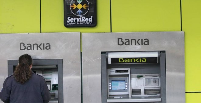 Un cajero de Bankia / Europa Press