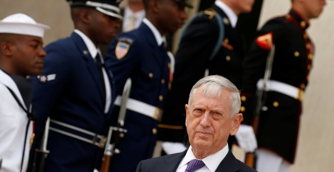 El secretario de Defensa de Estados Unidos, James Mattis.- REUTERS