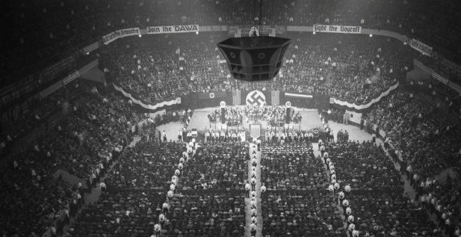 Concentración Nazi en Madison Square Garden, 1939