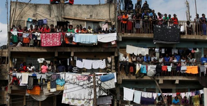 Barrio chabolista de Mathare, Nairobi (Kenia)./ EUROPA PRESS