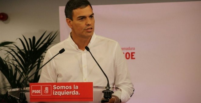 Pedro Sánchez./EUROPA PRESS