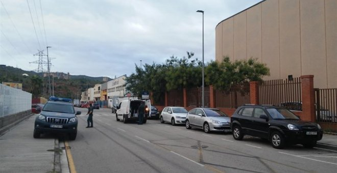 Zona inspeccionada por la Guardia Civil / EUROPA PRESS