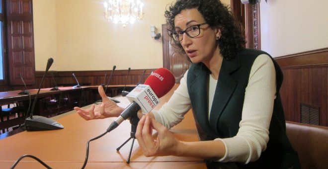 La secretaria general de ERC, Marta Rovira./EUROPA PRESS