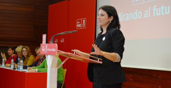 La vicesecretaria general del PSOE, Adriana Lastra./EUROPA PRESS