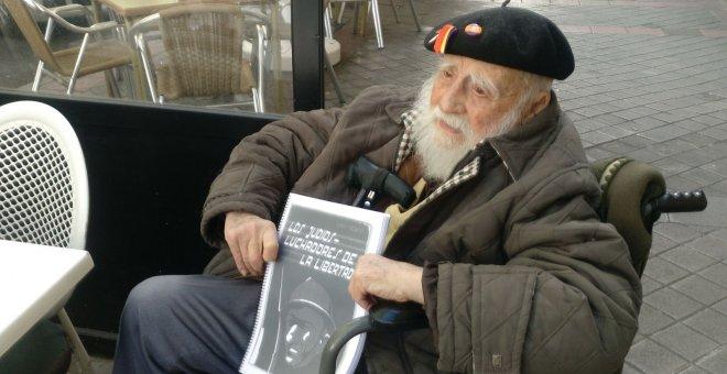 Virgilio Fernández participó como practicante en las Brigadas Internacionales durante la Guerra Civil.- FAMILIA DE VIRGILIO